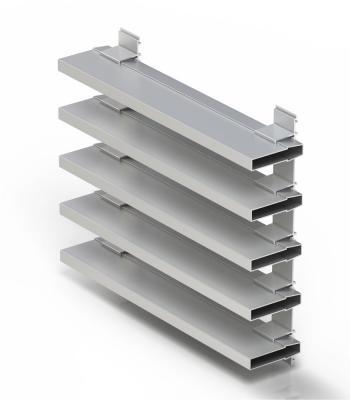 Vodn strana hlin kov syst my pro architekturu cortizo - Maderas lamelas ...